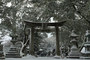 年越大祓の冬